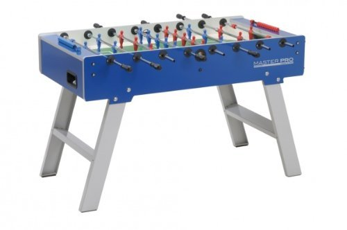 Garlando Unisex's Master Pro Indoor Football Table, Blue, One Size