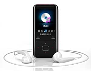 Samsung YP-Z3 4GB Z3 Ruskin MP3 HD Player - Pink