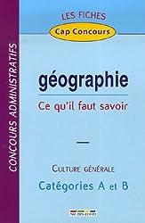 Géographie : Ce qu'il faut savoir