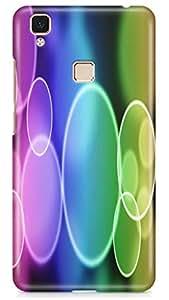 PCM High Quality Printed Designer Polycarbonate Hard Back Cover for Vivo V3 Max - Matte Finish - Color Warranty - 0410