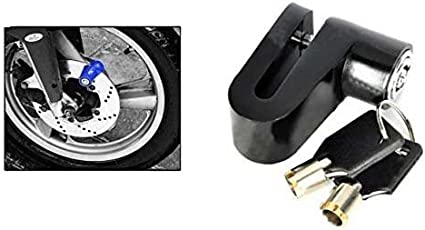 Motoway Heavy Metal Disc Break Security Lock For Royal Enfield Classic 350