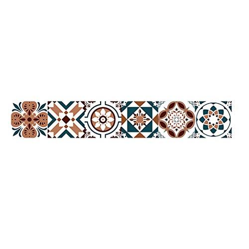 YWLINK Vinilo 20x500cm Adhesive Tile Art Metope Wall Decal Sticker DIY Kitchen...