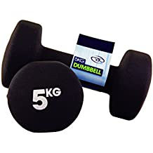 Fitness Mad Neo - Set de 2 Mancuernas / pesas de 5kg/u, color