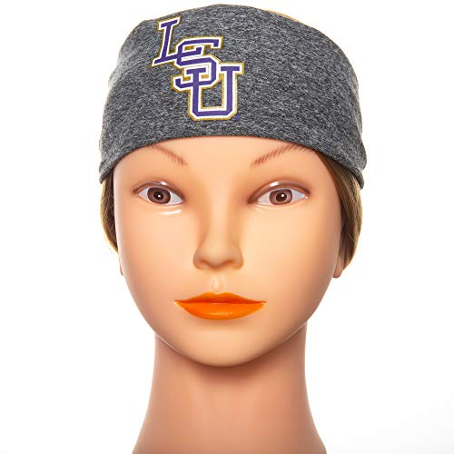 Bani Bands Headbands LSU Tigers Running Stirnband - Unisex Stirnbänder für Damen und Herren Rutschfester Stoff hält Schweiß bei jedem Training (Tennis Spieler Kostüm)