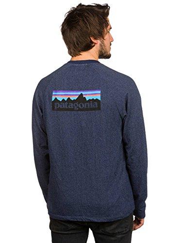 Preisvergleich Produktbild Patagonia 39485nvybxl–M 's P Logo LW Crew Sweatshirt Farbe: navy blue Größe: XL