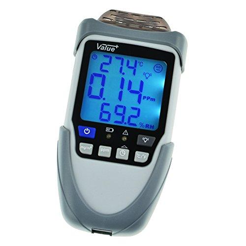 Formaldehyd-Monitor Umweltfreundliche Gasdetektor mit mit Hintergrundbeleuchtung Funktion (Monitore Indoor Quality Air)