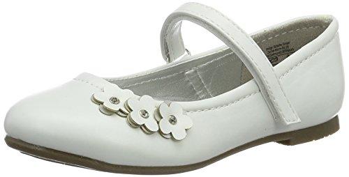 Indigo Mädchen 424 075 Geschlossene Ballerinas Weiß (White) 38 EU