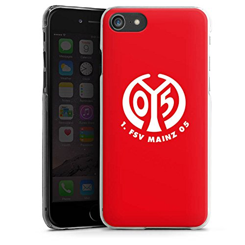 Apple iPhone 6s Silikon Hülle Case Schutzhülle 1. FSV Mainz 05 e.V. Fanartikel Fußball Hard Case transparent
