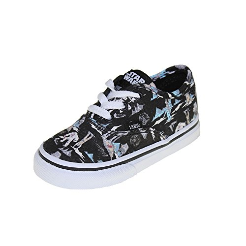 Vans - Toddlers Authentic Shoes in (Star Wars) Dark Side/Planet Hoth, UK: 7 UK Toddler, (Star Wars) Dark Side/Planet Hoth