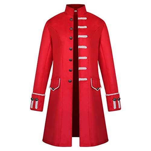 Mittelalterliche Formelle Kleidung - MWbetsy Männer Mittelalterliche Kleidung Steampunk Uniform
