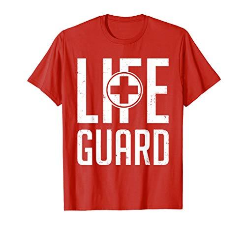 81a67d7e3306 Lifeguard Lebensretter Tshirt für Erste Hilfe Bademeister
