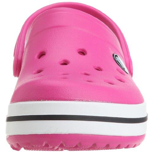 crocs Unisex-Kinder Crocband Kids Clogs Rosa (Fuchsia)