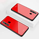 Custodia® Hard Shell Case for Samsung Galaxy A8s (Red)