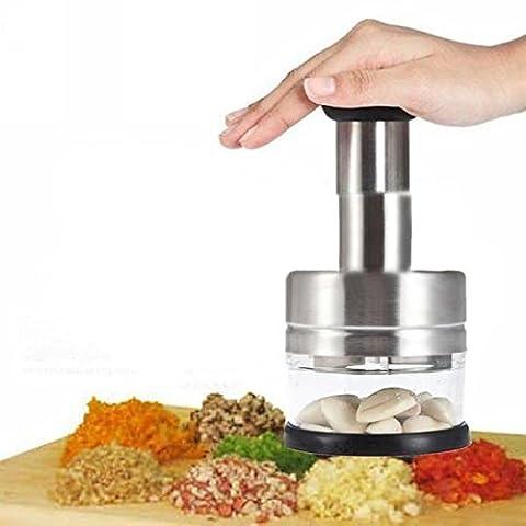 Coupe Legumes Et Oignons - Gearmax® Acier inoxydable légumes ail oignon Chopper
