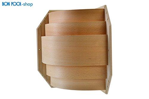BON pISCINE montage eliga lampe de sauna abat-jour en bois pour sauna blendschirm lumière