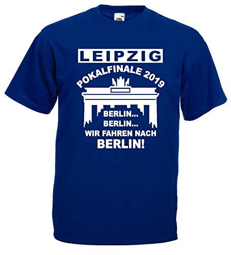 Leipzig Herren T-Shirt Pokalfinale 2019 Finale Berlin