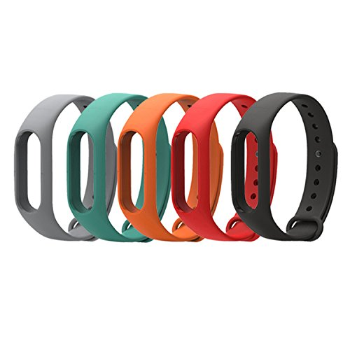 Coosa Elastisches Ersatz-Armband, wasserdicht, für Xiaomi Mi