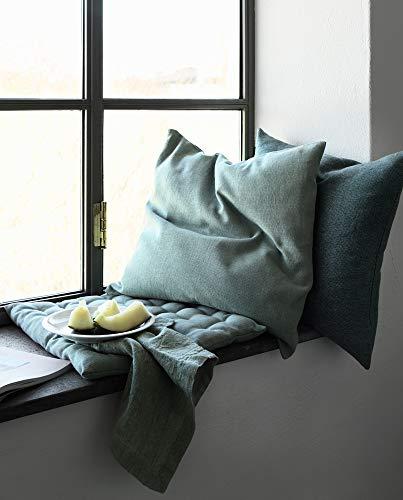LINUM Sitzkissen PEPPER G06 beige 40cm x 40cm x 4cm, Dekokissen, Kissen, Wohntextilien - 6
