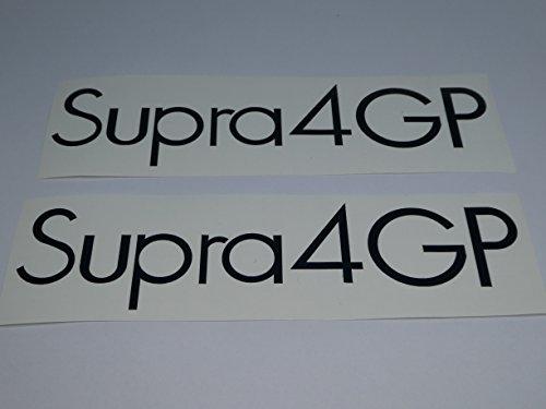 Hercules Supra 4 GP Seitenverkleidung Schriftzug Dekor Aufkleber Sticker