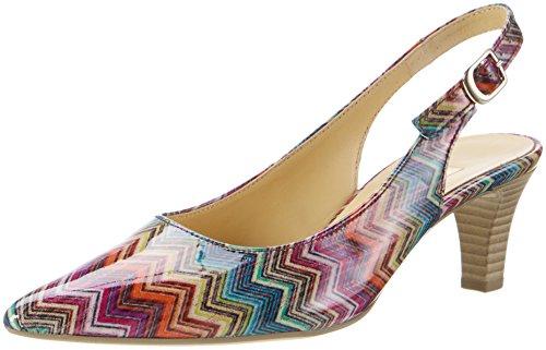 Gabor Shoes Fashion, Scarpe Col Tacco con Cinturino a T Donna Rosso (rot kombi 93)