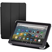 NuPro Tri-fold Standing Case for Fire HD 8 tablet 10th generation (2020 release), Black