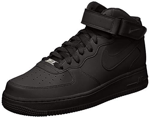 Nike Air Force 1 Mid '07 LE, Scarpe da Basket Uomo, Nero, 45 EU