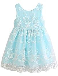 Vestidos Bebé,Switchali Chicas Verano Bola de encaje Vestido Princesa Vestidos para niñas moda Niños alta calidad algodon Vestido de fiesta por la noche Traje de ropa