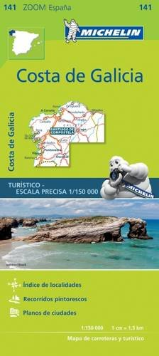 Costa de Galicia (Michelin Zoom Maps) par Michelin