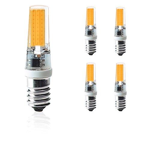 Porzellan-lampe Akzent (LED E14,Kobos-led® 5er Pack,3W,Ersetzt 35W Glühbirne,Halogen,Glühlampe,e14 led nicht dimmbar,Warmweiß,3000K,COB,330LM,LED Lampen Leuchtmittel,AC220-240V,260°Abstrahlwinkel,)