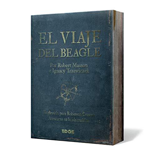 Edge Entertainment Robinson Crusoe - El Viaje del Beagle, Juego de Mesa EDGRC02