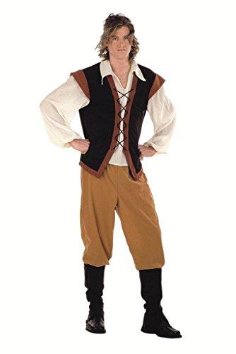 Bauer Mittelalterliche Für Erwachsene Kostüm - Limit Mittelalter Bauern-Kostüm (2x große)