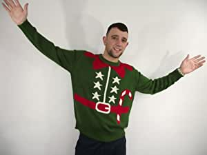 Christmas Jumper Elf Outfit ( Small ) ( Green )