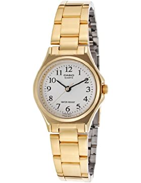 CASIO Damen-Armbanduhr Analog Quarz Edelstahl LTP-1130N-7B