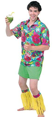 Brandsseller Herren Hawaii-Kostüm Verkleidung - Hawaii-Design ()