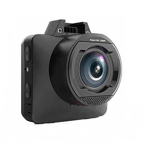 Enregistreur de conduite GPS Caméra de Voiture super grand angle 170° EBORN, 1080P 1296P Haute définition, mini 2pouces, vision nocturne, ADAS, contrôle de stationnement, WDR