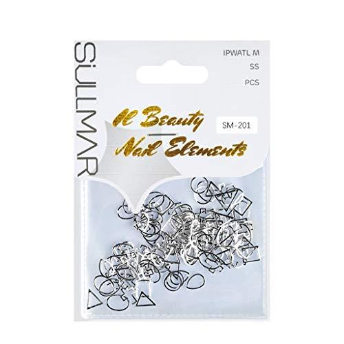 DIY Nagelkunst-Werkzeug-Dekorations-Maniküre-Ausrüstung, Nagel-Verzierungs-neue Nagel-Aufkleber Nagelkunst DIY Dekorations-Metallnagel-Aufkleber
