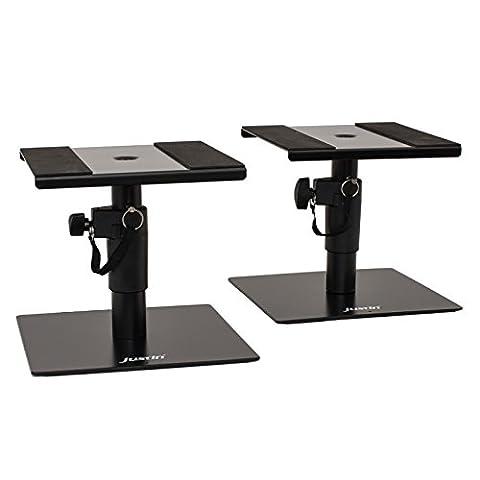 Justin SPS Desktop Monitor Stand, haut-parleur Support