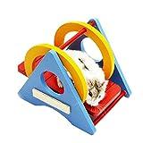 Nette Hamster Versteckhütte, Nette hölzerne Bettwäsche für kleine Tiere,W
