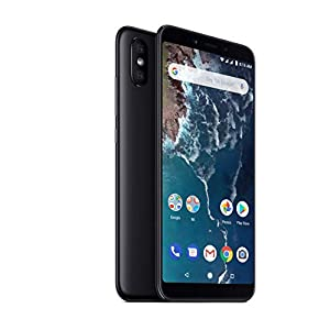 Xiaomi Mi A2-64GB 5.99-Inch Android 8.1 UK Version SIM-Free Smartphone - Black (Official UK Launch)