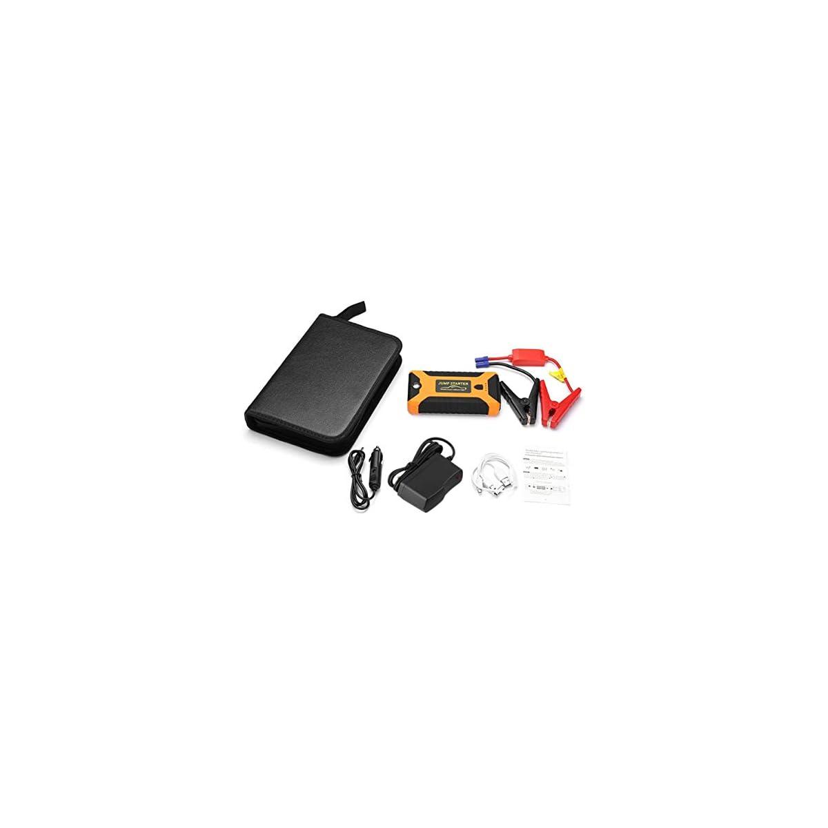 4197tn%2BSkKL. SS1200  - Detectoy 22000mAh Multifunción Jump Starter Battery Emergency Car Fuente de alimentación 12V LCD Digital Engine Booster Banco de Potencia para portátil