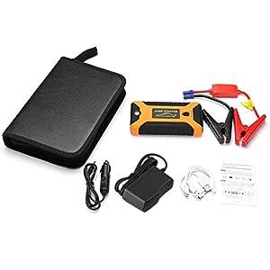 Detectoy 22000mAh Multifunción Jump Starter Battery Emergency Car Fuente de alimentación 12V LCD Digital Engine Booster Banco de Potencia para portátil