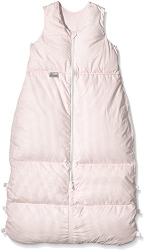Climarelle Daunenschlafsack, längenverstellbar, Alterskl. älter 24 Monate, Vichy rosé, 130 cm