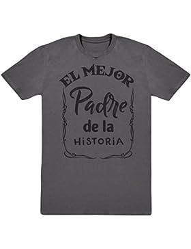 El Mejor Padre de la Historia - Regalo para padres - Regalo para papá - camiseta de hombre - camiseta de Padre