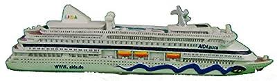 Schiffsmodell Aidaaura Miniatur Boot Schiff AIDA Aura von muschel-sammler-shop
