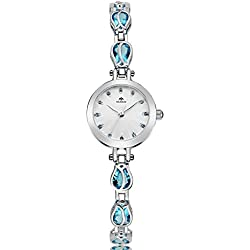 fashion ladies Bracelet Watch/ simple and casual watches/Analog quartz watch-E