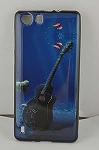 BlueArmor Soft Back Cover Case For Intex Aqua Lions 3g Design 23