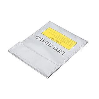 Allbusky LiPo Battery Guard Bag Fireproof Safety Protection Bag Charger Sack (23*30cm)