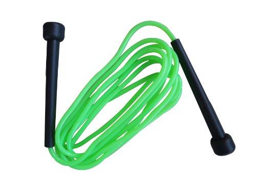 Schildkröt Fitness Springseil Speed Rope, Grün-Anthrazit, in PVC Drehdose, 960025 -