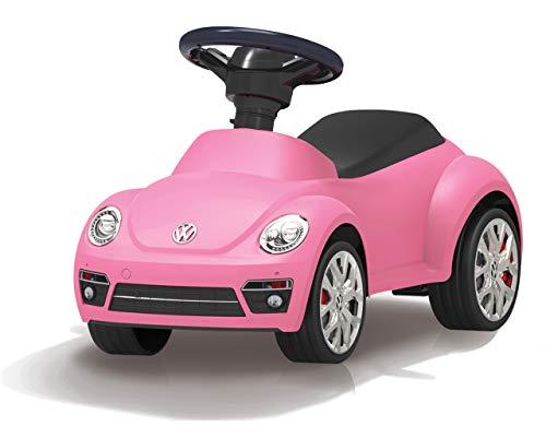 Jamara 460406-Correpasillo VW Beetle Antivuelco, Claxon en el Volante, Aspecto auténtico, Color Fucsia (460406)