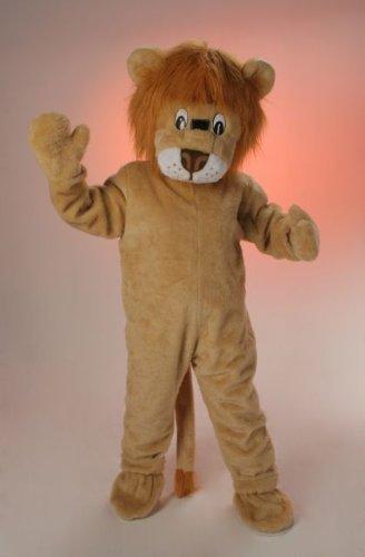 Kostüm Löwe Maskottchen - Orlob Plüsch Kostüm Big Löwe Maskottchen Löwenkostüm Karneval Fasching
